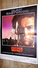 clint eastwood SUDDEN IMPACT ! l' inspecteur harry affiche cinema