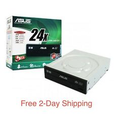 New Asus Internal 24x DVD-RW DVD+RW SATA OEM Optical Drive DRW-24B1ST DVD Burner