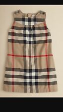 BURBERRY CHILDREN GIRLS DRESS CHECKERED SIZE 8 YEARS NEW