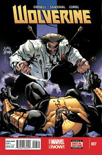 WOLVERINE #7 1ST PRINTING ALL-NEW MARVEL NOW! PAUL CORNELL LEAD UP TO DEATH OF