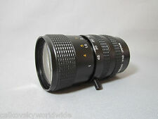 MACRO: CANON ZOOM 1.0/8-48MM C-MOUNT LENS for DIGITAL MOVIE CAMERA + CCTV