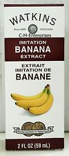 Watkins Imitation Banana Extract 2 oz