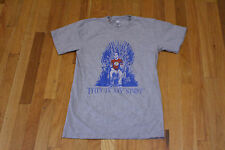 AMERICAN APPAREL SHELDON THIS IS MY SPOT IRON THRONE TEE GRAY SIZE SMALL NEW