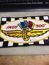 BRAND NEW PATCH OF THE 'INDIANAPOLIS SPEEDWAY' INDY 500