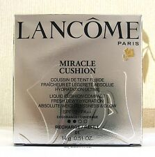 Lancome Miracle Cushion Compact Refill - 14g - Pure Porcelaine 01 - Boxed