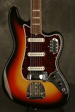 original 1967 Fender BASS VI Sunburst w/block inlay + binding!!!