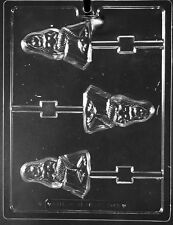 Mermaid Lollipop Sucker   Chocolate Mold  Candy Same day ship  m355