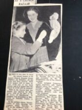 G2-1 Ephemera 1953 Article St James Oldbury Norma Cutler Dorothy Bazaar