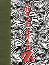 A Zeal of Zebras An Alphabet of Collective Nouns by Woop Hardcover,2011