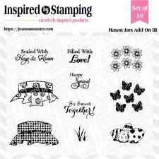 Inspired by Stamping Mason Jars Add On III Clear Stamp Set