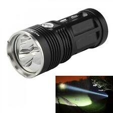 Black Tactical SkyRay 3x CREE XM-L T6 LED 6000LM Flashlight Torch Waterproof