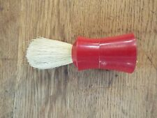 "VINTAGE EVER READY 100 BADGER HAIR STERILIZED SHAVING BRUSH 4"" LONG M NR"