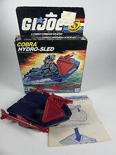 vintage GI Joe 6682 Cobra Hydro-Sled Vehicle in Box