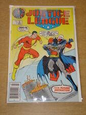 JUSTICE LEAGUE #3 NM (9.4) VARIANT TEST COVER BATMAN  DC COMICS JULY 1987 RARE**