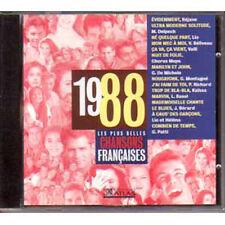 CD Les plus belles chansons françaises 1988 LIO DELPECH HELENA NOGUERRA PATTI NS