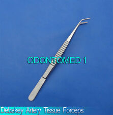 "Debakey Artery Tissue Forceps Angled Tip 8"" Surgical Instruments"