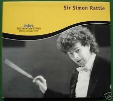 Sir Simon Rattle Sunday Times Absolutely Excellent Condition CD