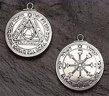 SUN TALISMAN Solomon Pentacle Necklace Pendant for Success Fame Fortune Amulet
