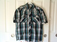 Raider Jean Company, Infringement, shirt, youth L (14-16), pearl snaps! cotton