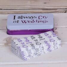 Bright Side Wedding Tissues and Tin - Mother of the Bride gift - Wedding Day