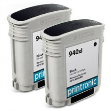 2PK HP 940XL Black Ink Cartridge C4906AN OfficeJet Pro 8000 OfficeJet Pro 8