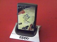 "Zippo~Chinese ""LOVE""! Beauty! NEW UNFIRED! NOS! 2005 Vintage!"