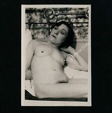 NUDE WOMAN or MAN ? FRAU oder MANN NACKT * Vintage 1920s Photo Gay Int #1