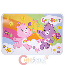 Care Bears Soft Carpet Baby Plush Area Rug  4ft x 6ft  Cheer and Share Bear