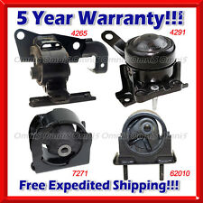K025 Fit 01-03 Toyota RAV4 2.0L Engine Motor & Trans. Mount for Auto. (4pc Set)