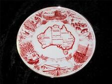 "VERY UNUSUAL Display Plate ""TERRA AUSTRALIS"" Benz Ceramics for BJH Australia"