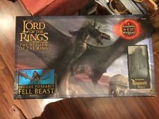 ToyBiz Lord of the Rings Return of the King FELL BEAST deluxe with rider - MISB