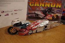 Scott Cannon Oakley 2001 Pro Stock Motocycle Limited Edition 1/9 Diecast Action