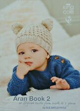 KNITTING PATTERN BOOK Baby Aran Book 2 King Cole KNITTING PATTERN BOOK