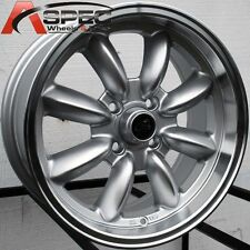 16X7 ROTA RB RIM 4X100 SILVER WHEELS EXCLUSIVE FOR MINI COOPER