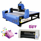 3KW Wood CNC Router Water Cooling Engraving Drilling Milling Machine 1300x2500