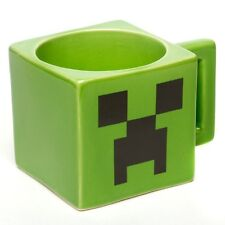 New Minecraft Creeper Ceramic Face Mug Fast Free Shipping From US