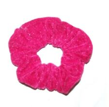 PAIR OF VELVET HAIR SCRUNCHIES ELASTIC SCRUNCHY HAIR BOBBLES HAIR SCRUNCHIE