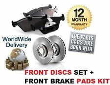 FOR CITROEN C4 GRAND PICASSO 1.6 VTi HDi 1.8 FRONT BRAKE DISCS + DISC PADS KIT