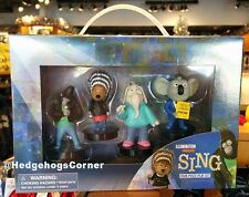 Sing (2016) Movie Characters Figures Play Set Stage Universal Studios Exclusive
