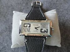 Terner Quartz Ladies Pretty Watch with a Black Band