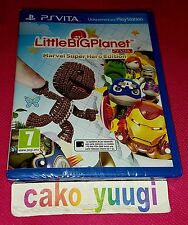 LITTLE BIG PLANET MARVEL SUPER HERO EDITION LITTLEBIGPLANET SONY PS VITA NEUF