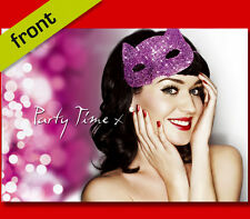 KATY PERRY CHRISTMAS CARD Top Quality Repro Autograph Signed A5