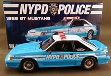 GMP 1/18 NYPD New York City Police 1988 Ford Mustang LIMITED EDITION OF ONLY 600