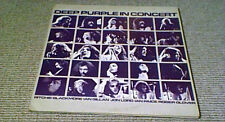 DEEP PURPLE IN CONCERT 1st Harvest UK 2LP 1970 & 1972 Live Stage Shows