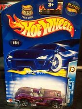 HOT WHEELS 2003 #151 -1 1958 CORVETTE PURP MAL 03CA