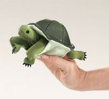 MINI TURTLE Finger Puppet  #2732 Free Shipping in USA ~ Folkmanis Puppets