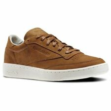 Reebok Classic Club C 85 PW Size 6 Brown RRP £85 BNIB V68687 ONE PAIR ONLY