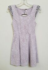FREE PEOPLE - Women's Junior's Dress - Size XS - Rose and Off-White w/Crystals