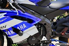 YAMAHA YZF-R6 2008-2016 Carbon Fiber Frame Covers Panels Protectors Guards RJ151