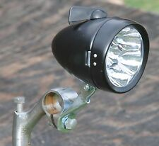 Vintage Schwinn Stingray Bicycle Black B 7 LED HEAD LIGHT Cruiser Bike Lowrider